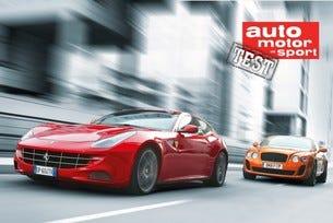 Ferrari FF срещу Bentley Continental Supersports