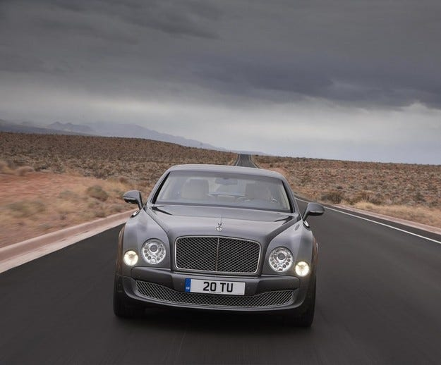 Bentley Muslane Mulliner Driving Specification