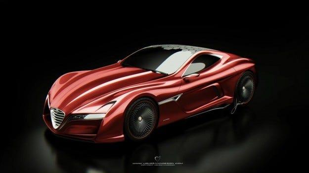 Ugur Sahin Design Alfa Romeo C12 GTS
