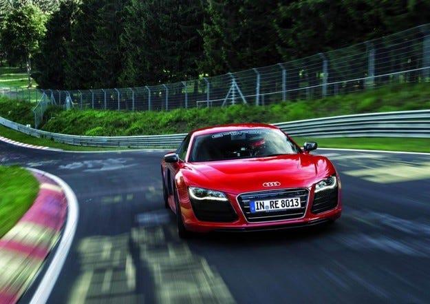 Audi R8 e-tron Нордшлайфе