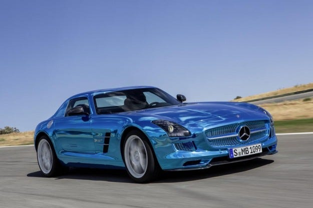 Mercedes SLS Coupe Electric Drive
