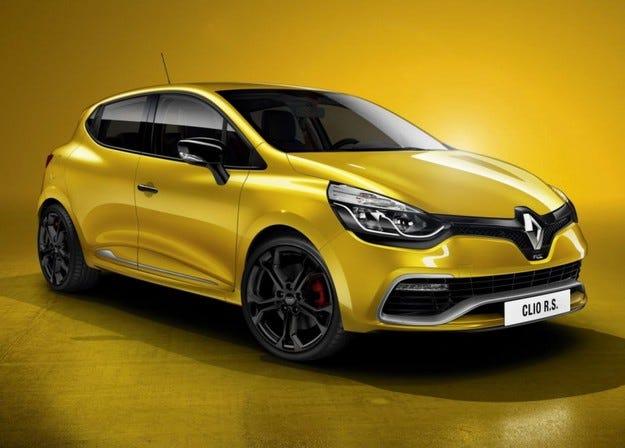 Renault New Clio R.S. 200 EDC