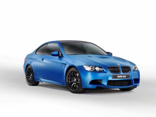 BMW M3 Coupe Frozen