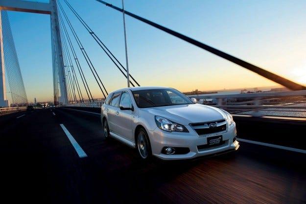 Subaru Legacy 2.5i EyeSight tS