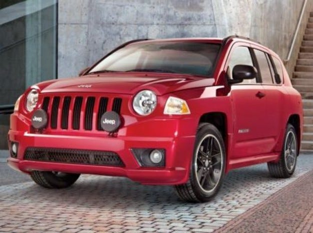 Jeep Compass Rallye Package
