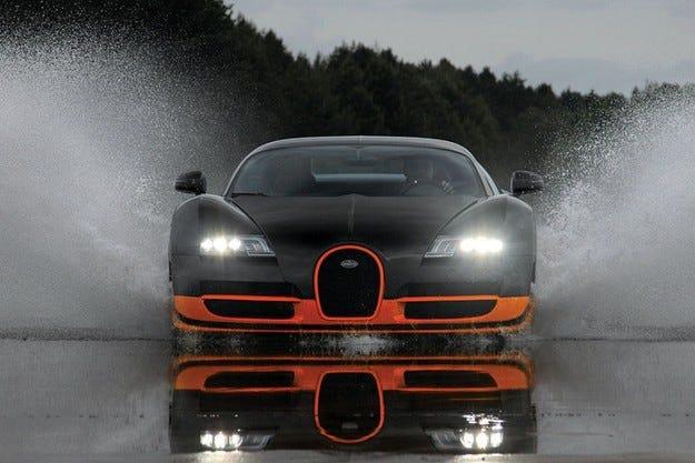 Гинес оспорва рекорда на Bugatti Veyron