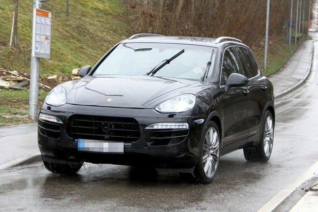 Фейслифт за Porsche Cayenne