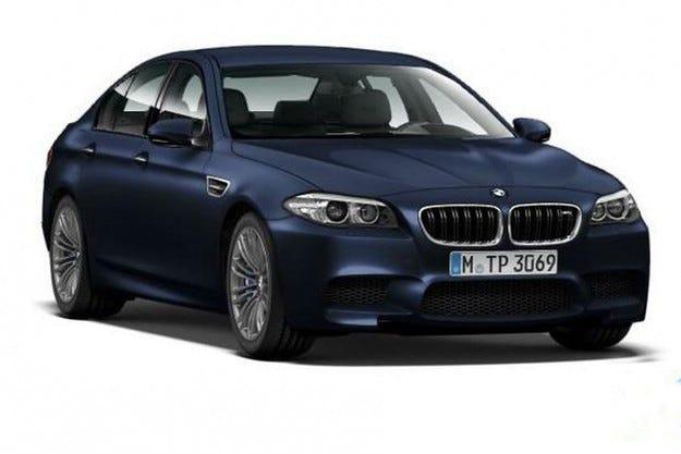 Новости при BMW M5