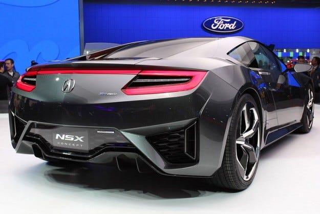 Honda NSX ще се произвежда в Щатите
