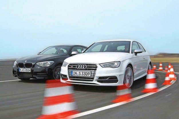 Audi S3 срещу BMW M135i xDrive
