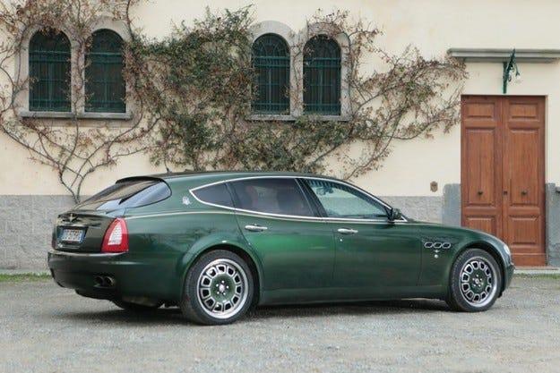 Maserati Quattroporte Fastback