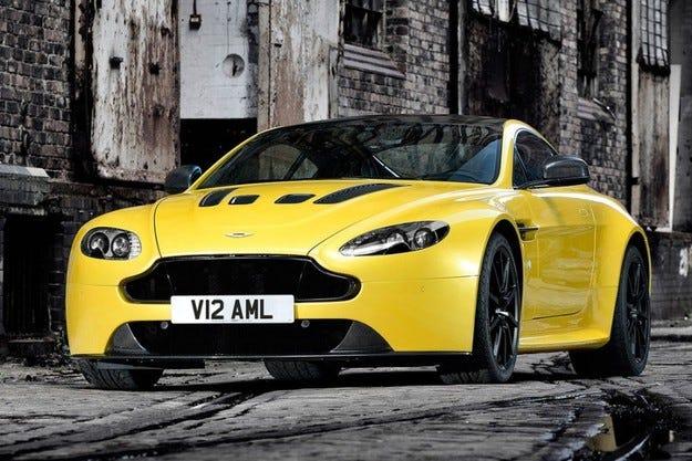 Aston Martin Vantage SS