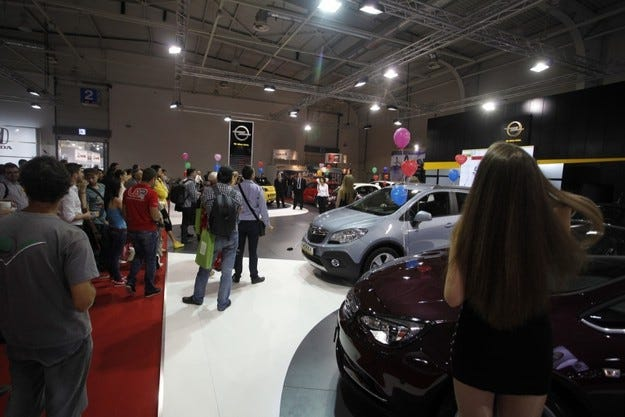 Opel на Автомобилен салон София 2013