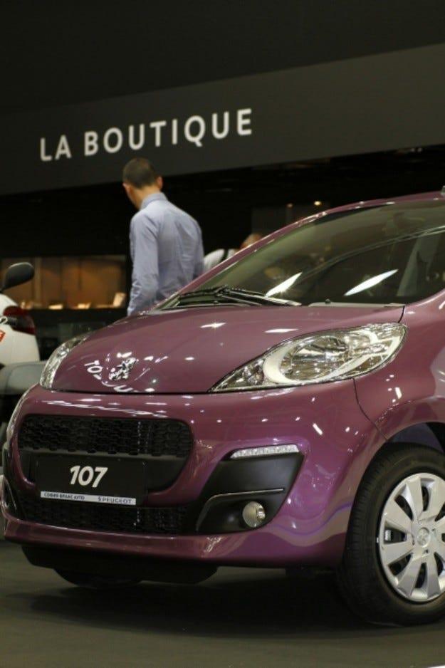 Peugeot на Автомобилен салон София 2013