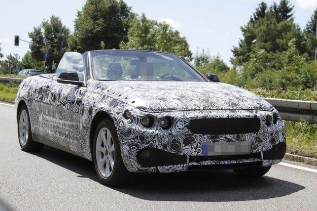 BMW Серия 4 кабриолет