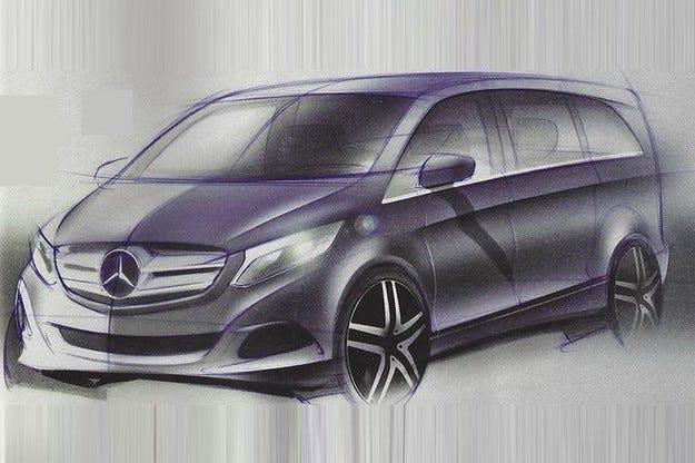 Mercedes V-класа
