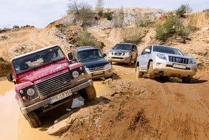 Mitsubishi Pajero, Nissan Pathfinder, Toyota Land Cruiser