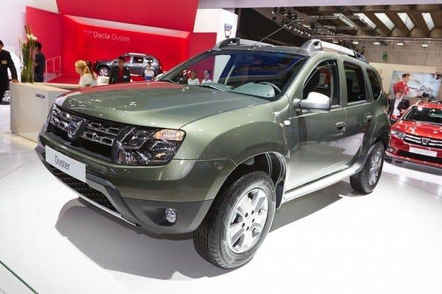Обновената Dacia Duster на IAA