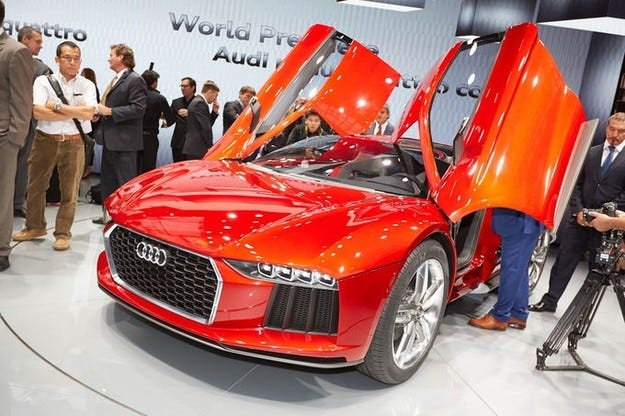 Audi Nanuk Quattro Concept на IAA