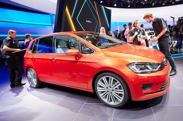 VW Golf Sportsvan на автосалона IAA