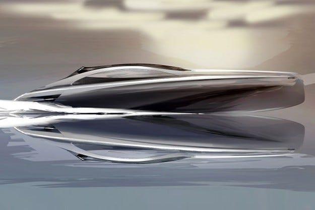 Супер-яхта от Mercedes