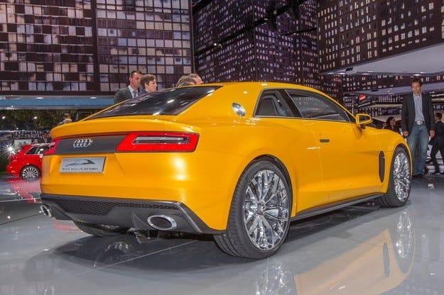 Audi Quatrro от 2015 година на базата на А6 и без хибридно задвижване