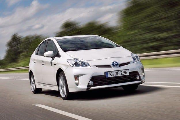 Сервизна акция за Toyota Prius III