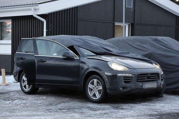 Porsche Cayenne фейслифт 2014