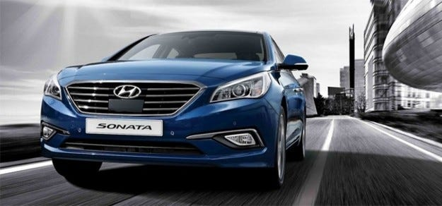 Премиера на Hyundai Sonata в Сеул
