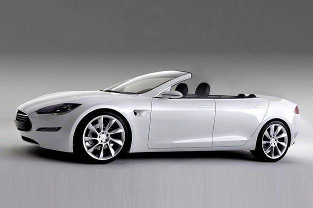Тунинг майстори направиха Tesla Model S Cabrio