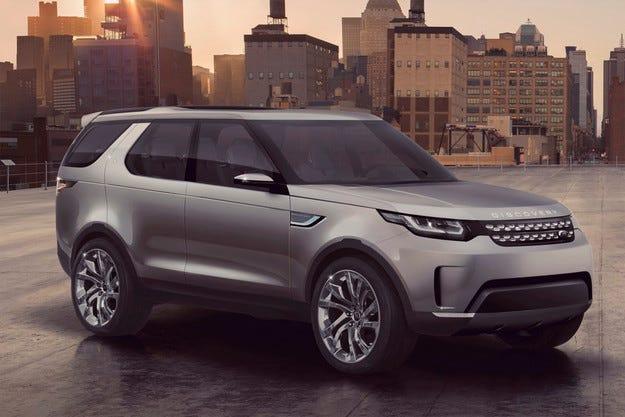 Land Rover Discovery ще прилича на Evoque