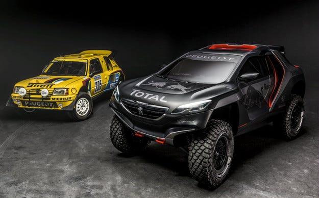 Peugeot 2008 DKR е готов да изяде пясъка