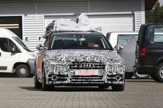 Обновеното Audi S6 с Matrix-светлини