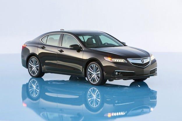 Acura представи седана TLX пред елитна публика