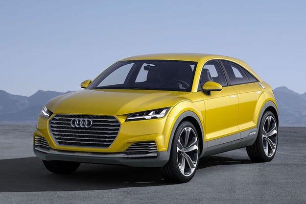 Audi TT Offroad Concept предизвиква сериозен интерес