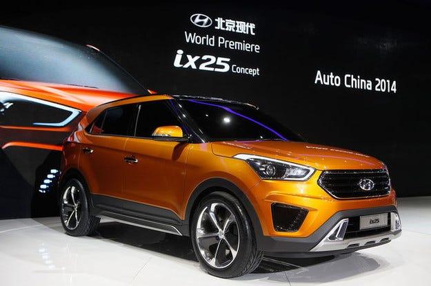 Hyundai ix25 Concept e нова разработка за малък всъдеход
