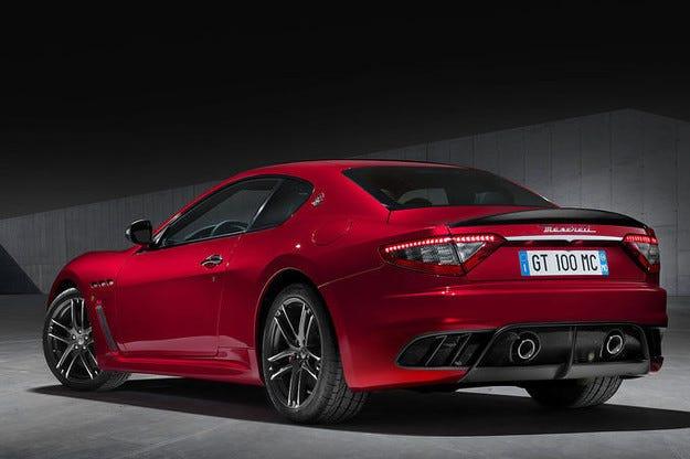 Посветиха Maserati GranTurismo на 100-годишния юбилей