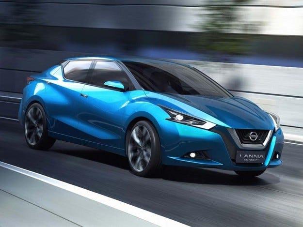 Концептът Nissan Lannia е седан за пазара в Китай