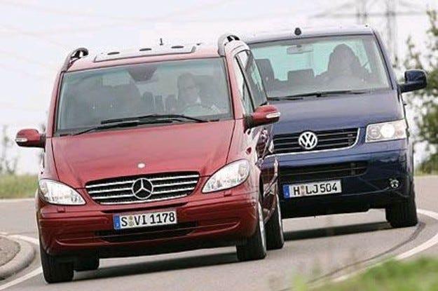 Mercedes Viano vs. VW Multivan