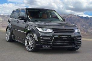 Mansory Range Rover Sport е подправен с много карбон