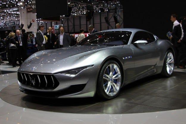 Концептът Maserati Alfieri става сериен модел през 2016