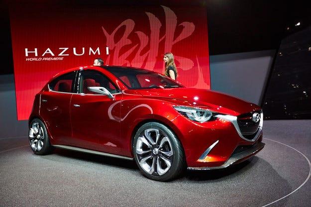 Последни пътни изпитания на Mazda 2 преди Париж