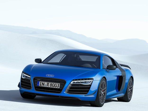 Купето R8 е първият автомобил на Audi с лазерни светлини
