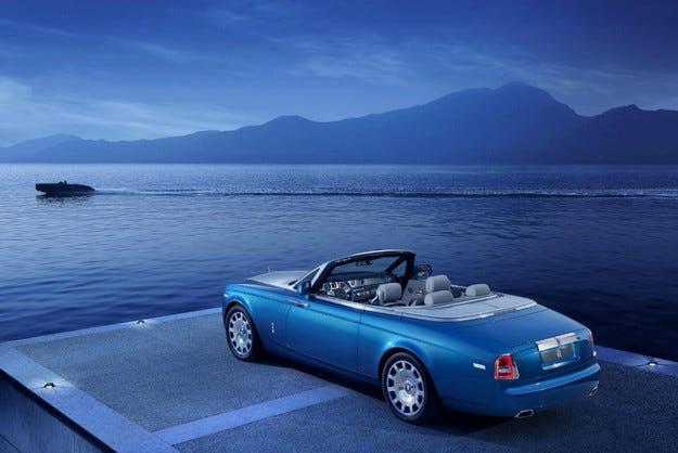 Rolls-Royce Phantom със специална серия във Вила д Есте