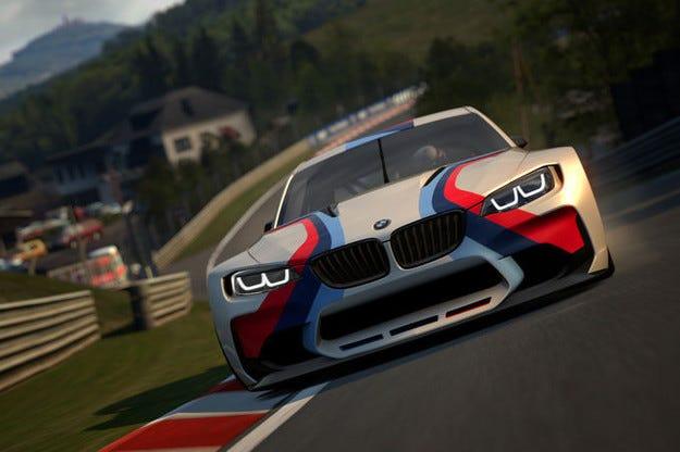 BMW Vision Gran Turismo специално разработен за Playstation
