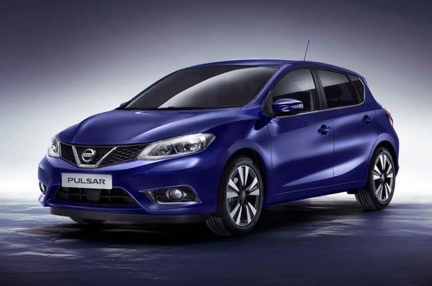 Nissan представи новия хечбек  Pulsar