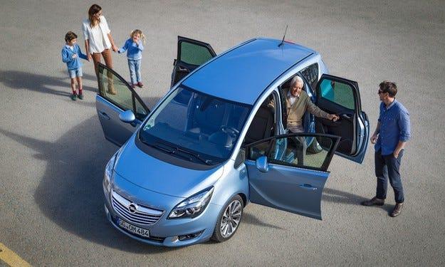 Новият Opel Meriva e водещ в своя сегмент модел
