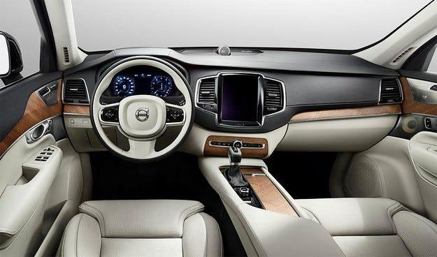 Разсекретиха интериора на новия всъдеход Volvo XC90