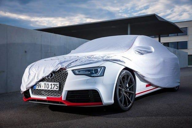 Концептът Audi RS5 TDI  с E-компресор срещу турбо дупката