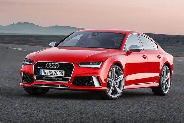 Audi представя официални снимки на обновения RS7